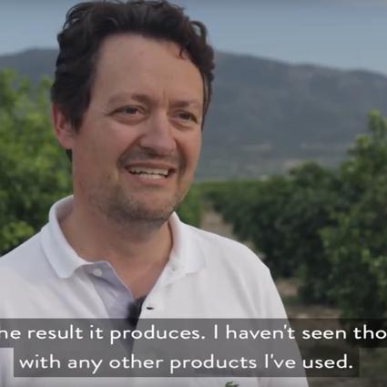 Vídeo: Agricultor relata resultados do BlueN em citrinos