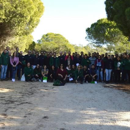 Hubel Verde promove atividade de Team Building e apadrinha peneireiro do RIAS